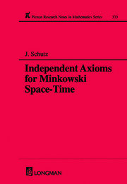 Independent Axioms for Minkowski Space-Time - 1st Edition book cover