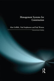 Management Systems for Construction - 1st Edition book cover