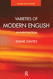 Varieties of Modern English - 1st Edition book cover