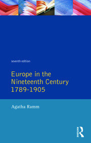 Grant and Temperley's Europe in the Nineteenth Century 1789-1905 - 1st Edition book cover
