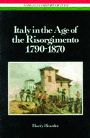 Italy in the Age of the Risorgimento 1790 - 1870 - 1st Edition book cover