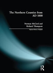 The Northern Counties from AD 1000 - 1st Edition book cover