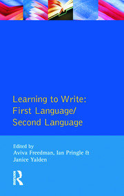 Learning to Write - 1st Edition book cover