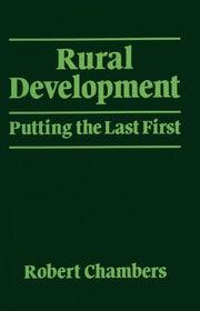Rural Development - 1st Edition book cover