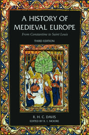 A History of Medieval Europe - 3rd Edition book cover