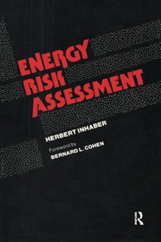 Energy Risk Assessment - 1st Edition book cover