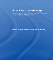 The Meditative Way - 1st Edition book cover