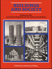 Buildings and Society - 1st Edition book cover