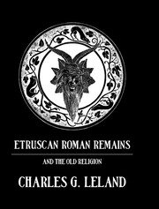 Etruscan Roman Remains - 1st Edition book cover