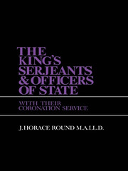King S Sergeants and Officers Cb - 1st Edition book cover