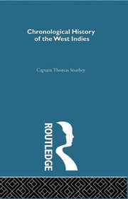 Chronicle History of the West Indies - 1st Edition book cover