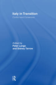 Italy in Transition - 1st Edition book cover