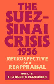 The Suez-Sinai Crisis - 1st Edition book cover