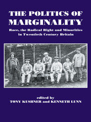 The Politics of Marginality - 1st Edition book cover