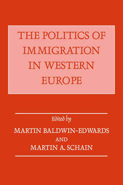 The Politics of Immigration in Western Europe - 1st Edition book cover