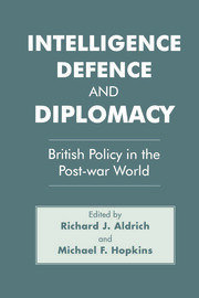 Intelligence, Defence and Diplomacy - 1st Edition book cover