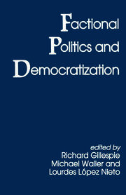 Factional Politics and Democratization - 1st Edition book cover
