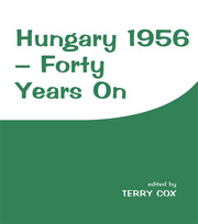 Hungary 1956 - 1st Edition book cover