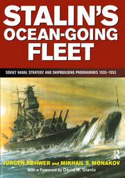 Stalin's Ocean-going Fleet: Soviet - 1st Edition book cover