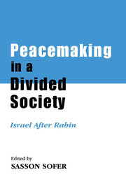 Peacemaking in a Divided Society - 1st Edition book cover