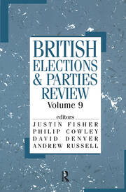 British Elections & Parties Review - 1st Edition book cover