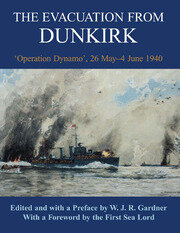 The Evacuation from Dunkirk - 1st Edition book cover