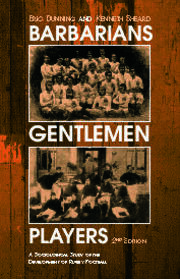 Barbarians, Gentlemen and Players - 2nd Edition book cover