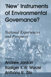 New Instruments of Environmental Governance? - 1st Edition book cover