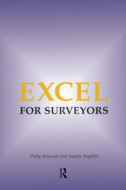 Excel for Surveyors - 1st Edition book cover