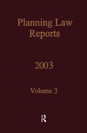 PLR 2003 - 1st Edition book cover
