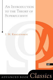 An Introduction To The Theory Of Superfluidity - 1st Edition book cover