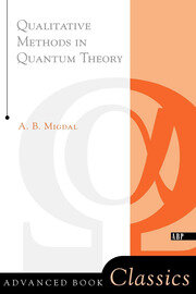 Qualitative Methods In Quantum Theory - 1st Edition book cover