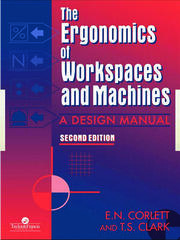 The Ergonomics Of Workspaces And Machines - 1st Edition book cover