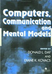 Computers, Communication And Mental Models - 1st Edition book cover