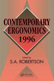 Contemporary Ergonomics 1996 - 1st Edition book cover