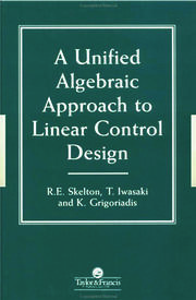 A Unified Algebraic Approach To Control Design - 1st Edition book cover