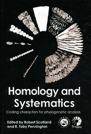 Homology and Systematics: Coding Characters for Phylogenetic Analysis