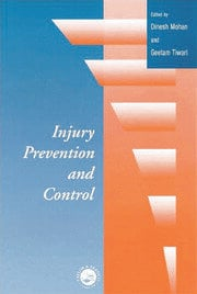 Injury Prevention and Control - 1st Edition book cover