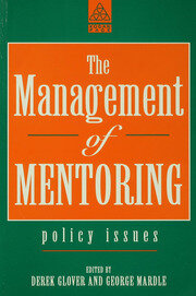 The Management of Mentoring - 1st Edition book cover