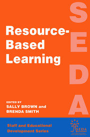 Resource Based Learning - 1st Edition book cover