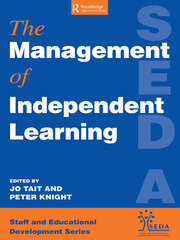 Management of Independent Learning Systems - 1st Edition book cover