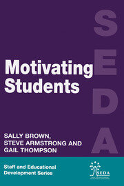 Motivating Students - 1st Edition book cover