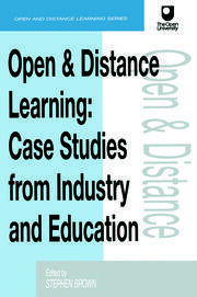 Open and Distance Learning - 1st Edition book cover