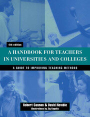 Handbook for Teachers in Universities and Colleges - 4th Edition book cover