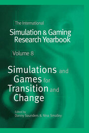 The International Simulation & Gaming Research Yearbook - 1st Edition book cover