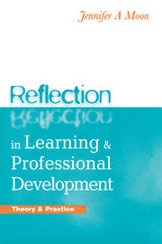 Reflection in Learning and Professional Development - 1st Edition book cover