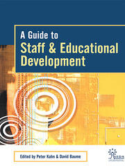 A Guide to Staff & Educational Development - 1st Edition book cover