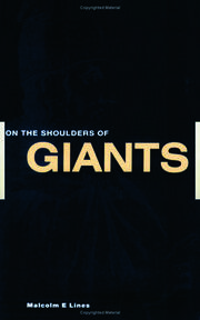 On the Shoulders of Giants - 1st Edition book cover