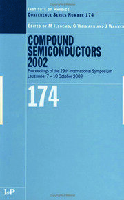 Compound Semiconductors 2002