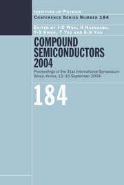 Compound Semiconductors 2004: Compound Semiconductors for Quantum Science and Nanostructures